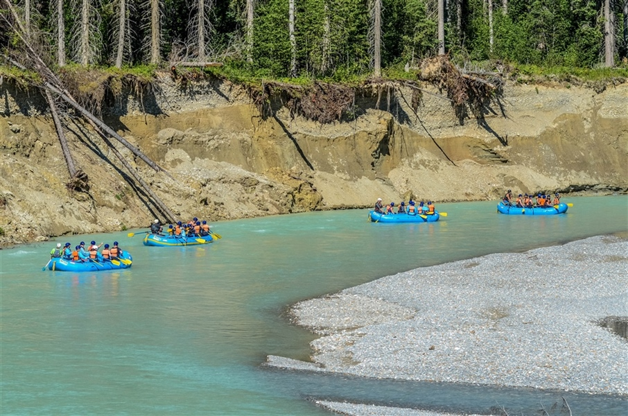 Family Rafting Fun On the Kananaskis River
