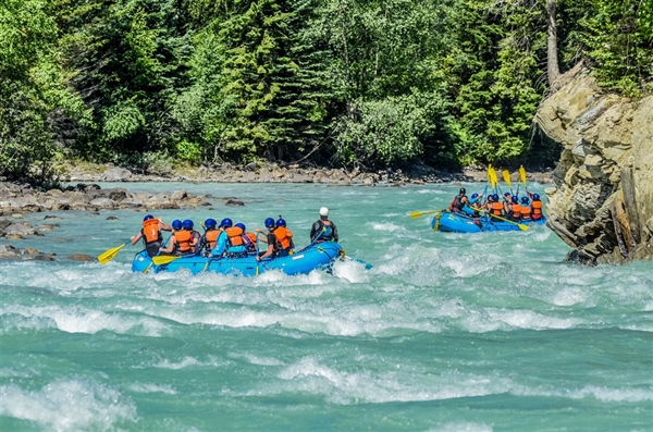 You NEED To Raft The Kicking Horse River!