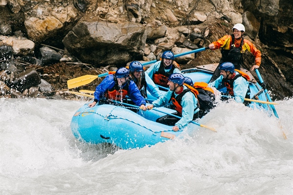 Best Whitewater rafting rivers in Canada