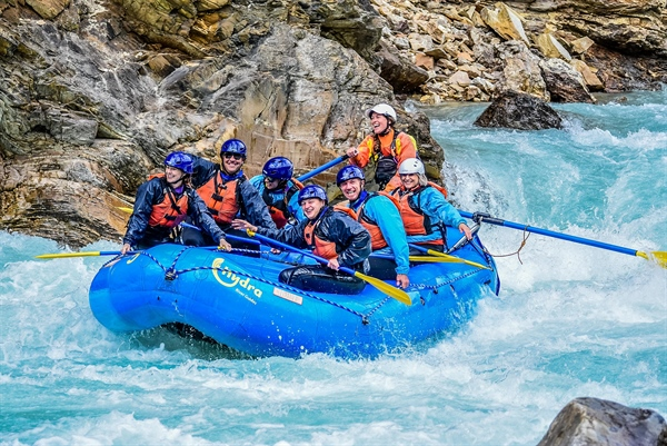 Combine rafting with amazing Banff Adventures