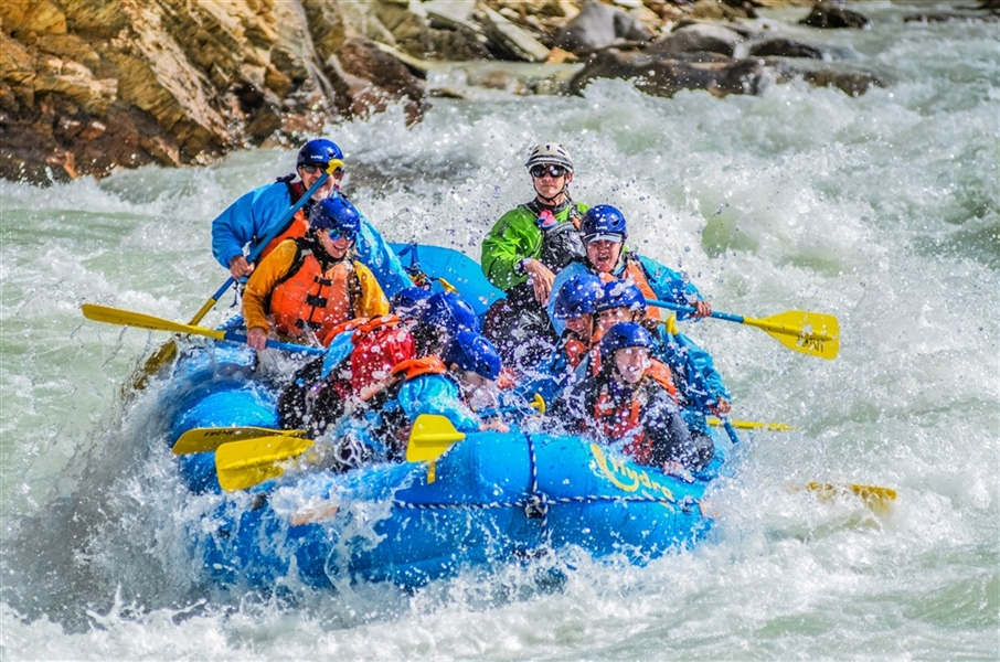 Canadian Rockies Rafting: Get Ready For Glacier Fresh Rapids